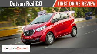 Datsun RediGO | First Drive Review