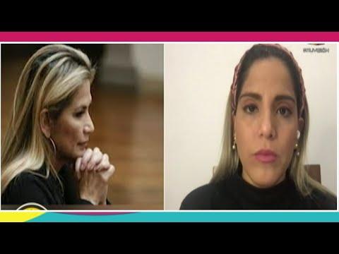 26 días de detención a Jeanine Añez