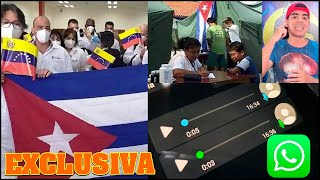 Se filtran audios de médicos Cubanos de misión en Venezuela decididos a desertar ????