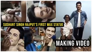 Making Of Sushant Singh Rajput's First Wax Statue | TFPC - TFPC