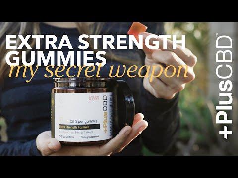Extra Strength Gummies | America's Favorite CBD
