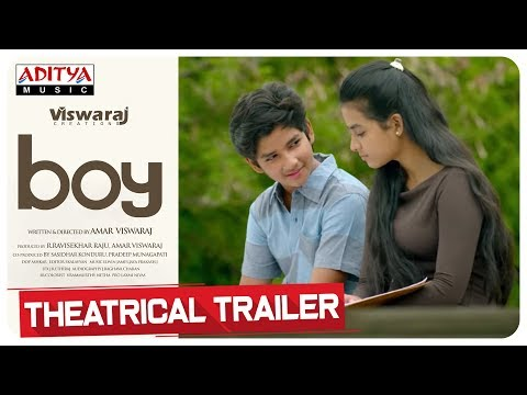 Boy Telugu Movie Theatrical Trailer | Lakshya Sinha, Sahiti | Amar Viswaraj