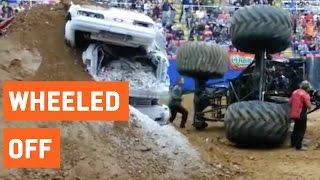 Monster Truck Backflip Goes Wrong | Wheeled Off