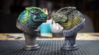 Let's Paint: Dinosaur Garage Kits!