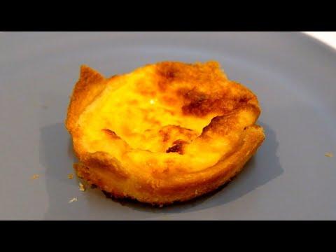 ทาร์ตไข่-ทาร์ตไข่จากขนมปังแผ่น