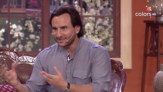 Comedy Nights with Kapil - Saif narrates a funny incident to the audience! - COLORSTV