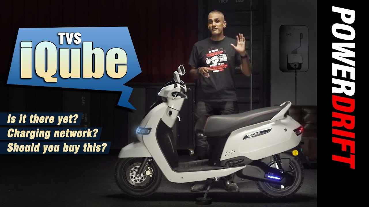 TVS iQube | Road Test Review | PowerDrift