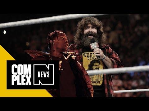 WWE Wants to Block Travis Scott From Trademarking 'Cactus Jack'