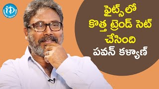 Pawan Kalyan Has a Unique Style For Fight Sequence - Fight Master Vijay | Saradaga With Swetha Reddy - IDREAMMOVIES