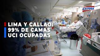 ????????Defensoría confirma que 99% de camas UCI en Lima y Callao están ocupadas