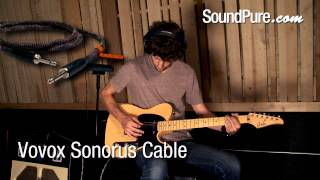 Vovox Sonorus Instrument Cable - Guitar Cable Shootout