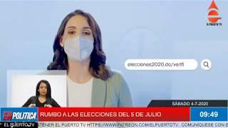 EN POLÍTICA 4 7 2020  RUMBO A LAS ELECCIONES DEL 5 DE JULIO