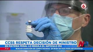 De tres meses hasta seis años de prisión a funcionarios que no se quieran vacunar contra el Covid 19