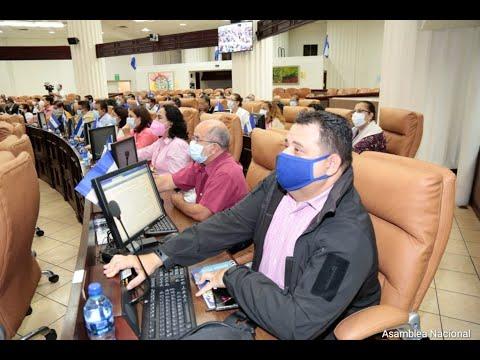 Asamblea Legislativa aprueba resolución de condena a EEUU por sanciones a funcionarios nicaragüenses