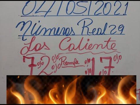 NÚMEROS PARA HOY 04/05/2021 PARA TODAS LAS LOTERIAS(EL NUMEROS DE HOY 04 DE MAYO)