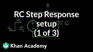 RC step response 1 of 3 setup