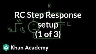 RC step response 1 of 3 setup