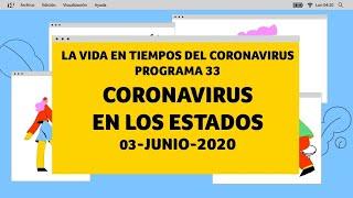La Vida en Tiempos del Coronavirus | Programa 33 | CORONAVIRUS EN LOS ESTADOS