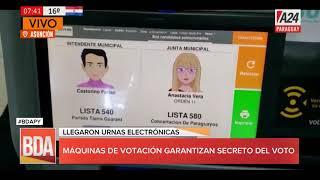 #BDAPY Máquinas electrónicas para votaciones en elecciones
