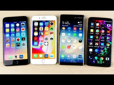 10 Reasons iPhones are Better than Android Phones (2018)