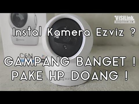 Cara Instal Kamera Ezviz ke Handphone!