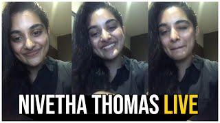 Nivetha Thomas Instagram LIVE | V Movie Nivetha Thomas Live Chat | TFPC - TFPC