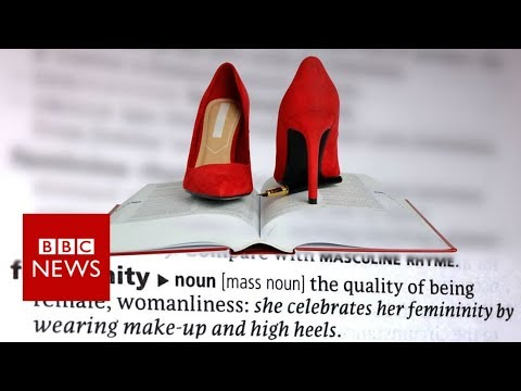 Woman challenges definition of 'feminine' on Thesaurus.com - BBC News