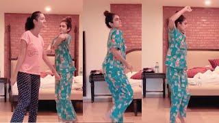 Actress Aakanksha Singh And Shanvi Dance Video | IG Telugu - IGTELUGU