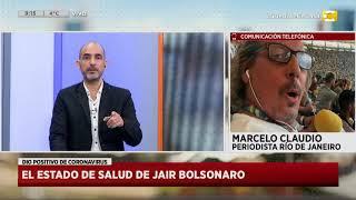 Coronavirus en Brasil: El estado de salud el presidente Jair Bolsonaro en Hoy Nos Toca a las Ocho