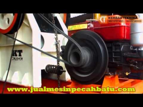 Mesin Pemecah Batu Kembar Teknika | Stone Crusher Machine