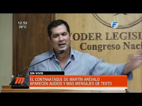 Contraataque de Martín Arévalo tras denuncia en su contra