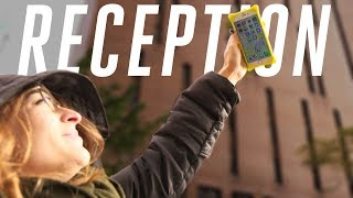 Does raising your phone improve your cell reception?