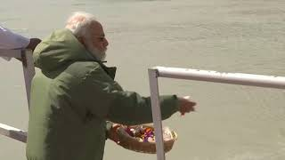 India's Modi offers prayers at Indus River in Ladakh where troops clashed with China - ANIINDIAFILE