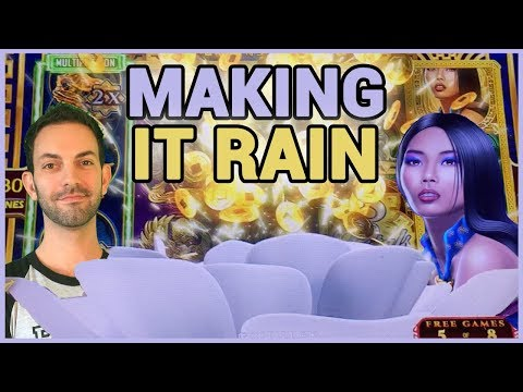 connectYoutube - 💦💰 Making it RAIN ☔💰 ✦ Simpsons + Pandas + 8 Petals  ✦ Slot Machine Pokies w Brian Christopher
