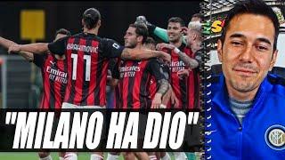 """LA RISPOSTA DI IBRA A LUKAKU E IL MESSAGGIO ALLE RIVALI: """"SCUDETTO POSSIBILE""""   inter-Milan 1-2"""