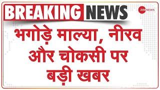 ED ने Fugitive Vijay Mallya, Nirav Modi और Mehul Choksi से अब तक जब्त किए 18,170 करोड़   Breaking - ZEENEWS