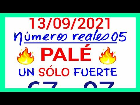 NÚMEROS PARA HOY 13/09/21 DE SEPTIEMBRE PARA TODAS LAS LOTERÍAS...!! Números reales 05 para hoy...!!