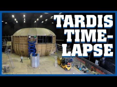 TARDIS Deconstruction Timelapse - Doctor Who