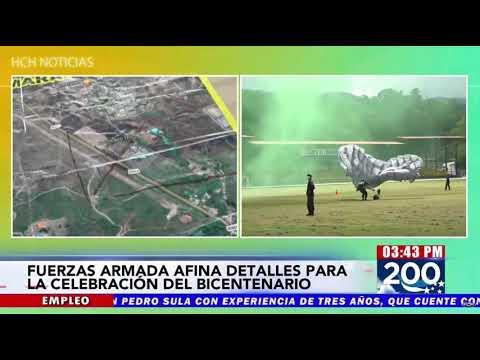 ¡Salto Libre! Listos 29 paracaidistas para engalanar el #BicentenarioHonduras