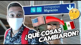Asi es VIAJAR de EEUU ???????? A MEXICO ???????? POST-CUARENTENA ??  - Oscar Alejandro