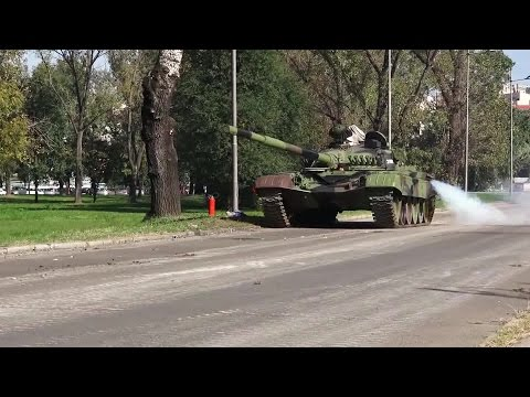 Video: Serbian supremacy - Tank M-84 -