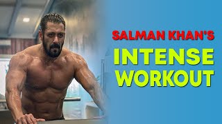 Salman Khan shares glimpses of his intense training session for 'Tiger 3' - BOLLYWOODCOUNTRY