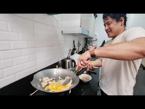 ใบเหลียงผัดไข่-อร่อย