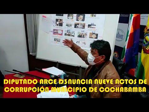 D3NUNCIAN NUEVE CASOS DE NEPOTISMO EN EL MUNICIPIO DE COCHABAMBA ESTÁ DE CAB3ZA...