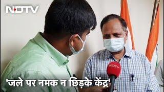 Oxygen की कमी से हुई मौतों के मामले पर AAP ने केंद्र को घेरा, बता रहे हैं Sharad Sharma - NDTVINDIA