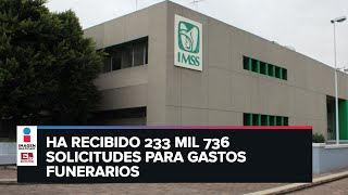 IMSS otorga 758 mdp en apoyos a familias con fallecidos por covid