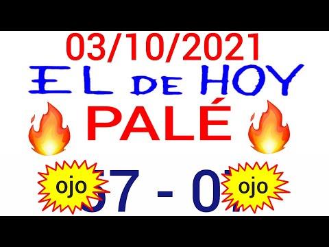 NÚMEROS PARA HOY 03/10/21 DE OCTUBRE PARA TODAS LAS LOTERÍAS...!! Números reales 05 para hoy...!!