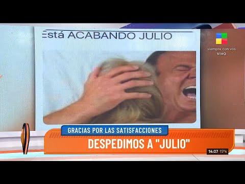 La despedida de Julio y la bienvenida de Agostini