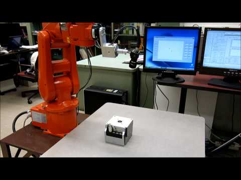 Single PSD Approach for Industrial Robot Calibration (IRB 120)