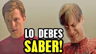 Confirman a Tobey Maguire y Andrew Garfield en Spider Man 3 y es verdad Deadpool 3 multiverso...
